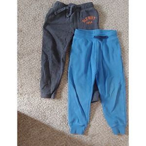 H&M and Old Navy toddler boy sweat pants pair 4T